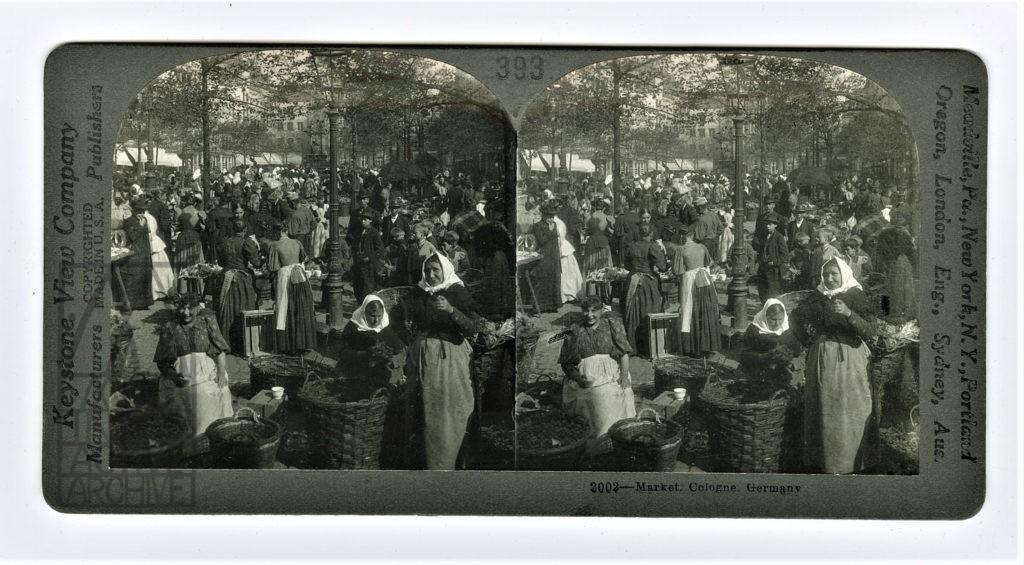 3 Auguste et Louis Lumiere, Alter-Marktplatz, 1896.