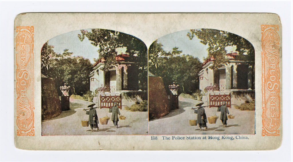 4 American Mutoscope and Biograph In Old Hong Kong, 1901.