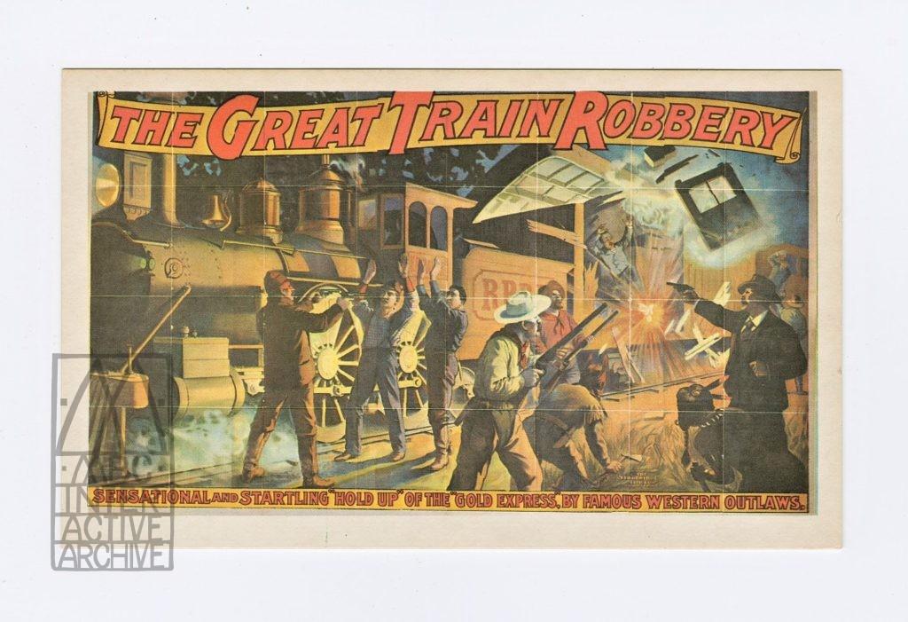 427 Edwin S. Porter, The Great Train Robbery., 1903. USpc