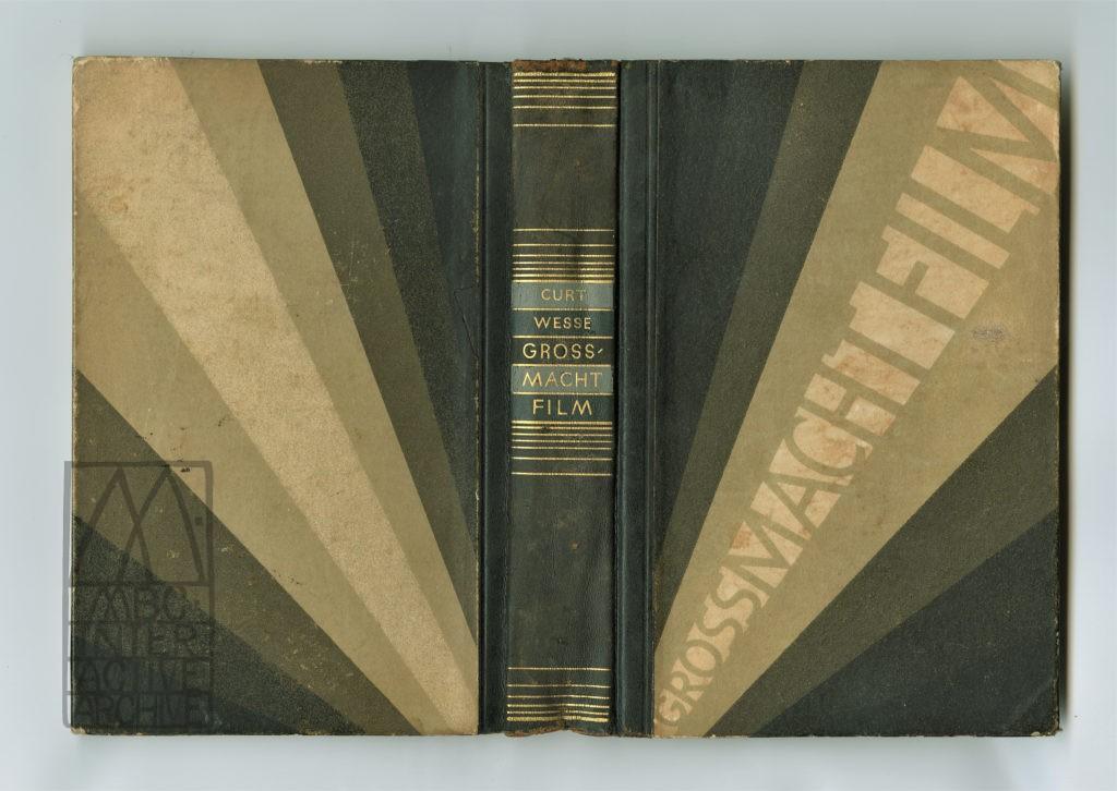 453e Curt Wesse, Grossmacht Film, 1928 gbook