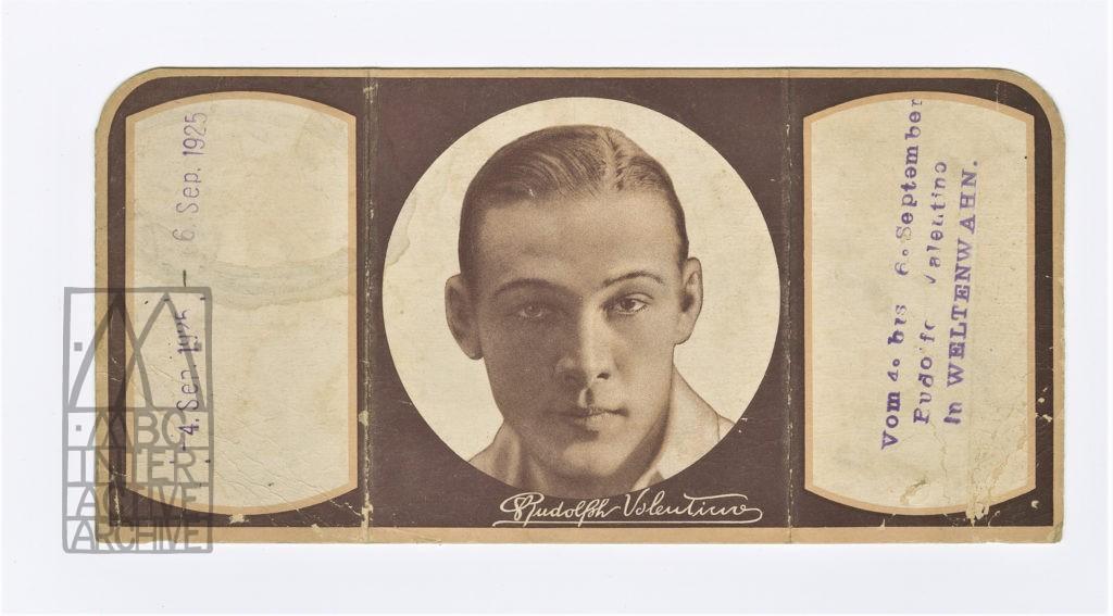 561 Rudolph Valentino, The Shiek, 1921. USp