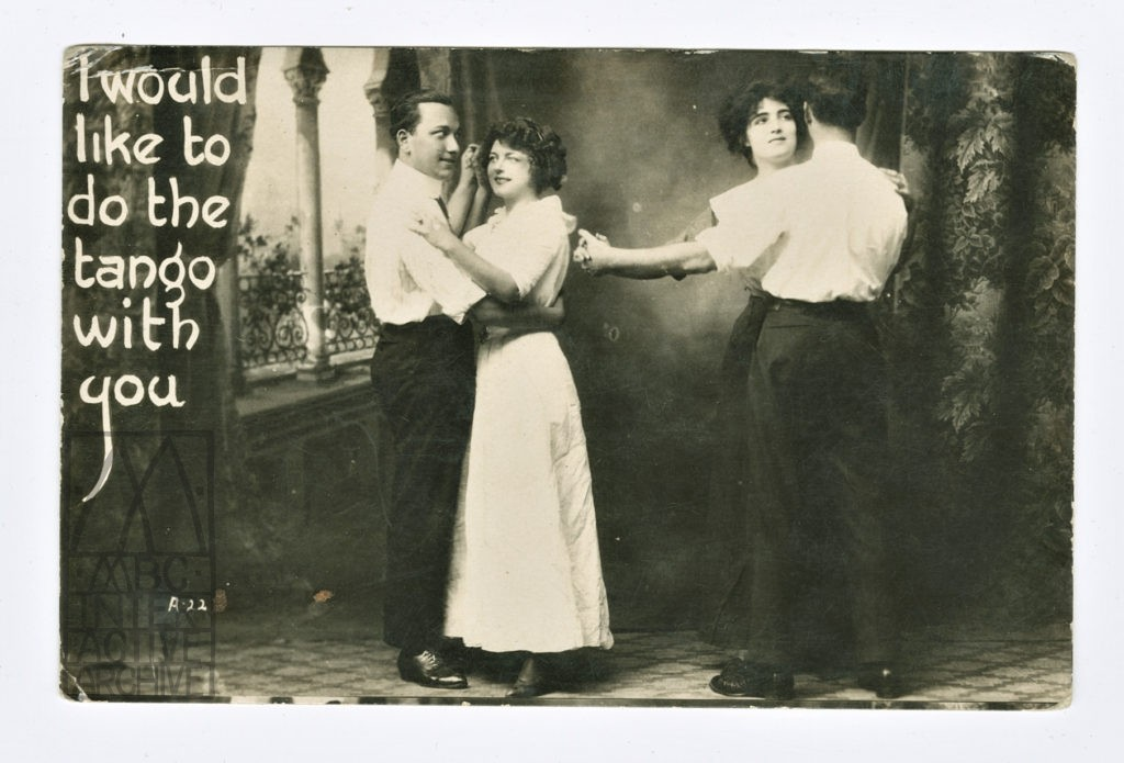 5c Eugene Py Tango argentino, 1900.