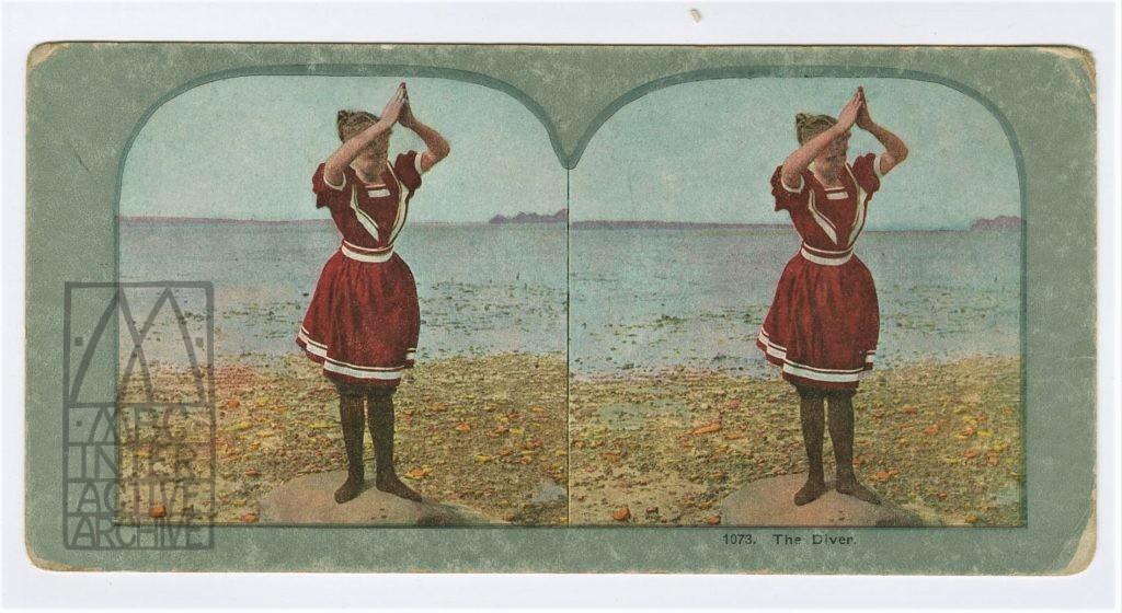 61 Siegmund Lubin, By the Sea (The Diver), 1912.