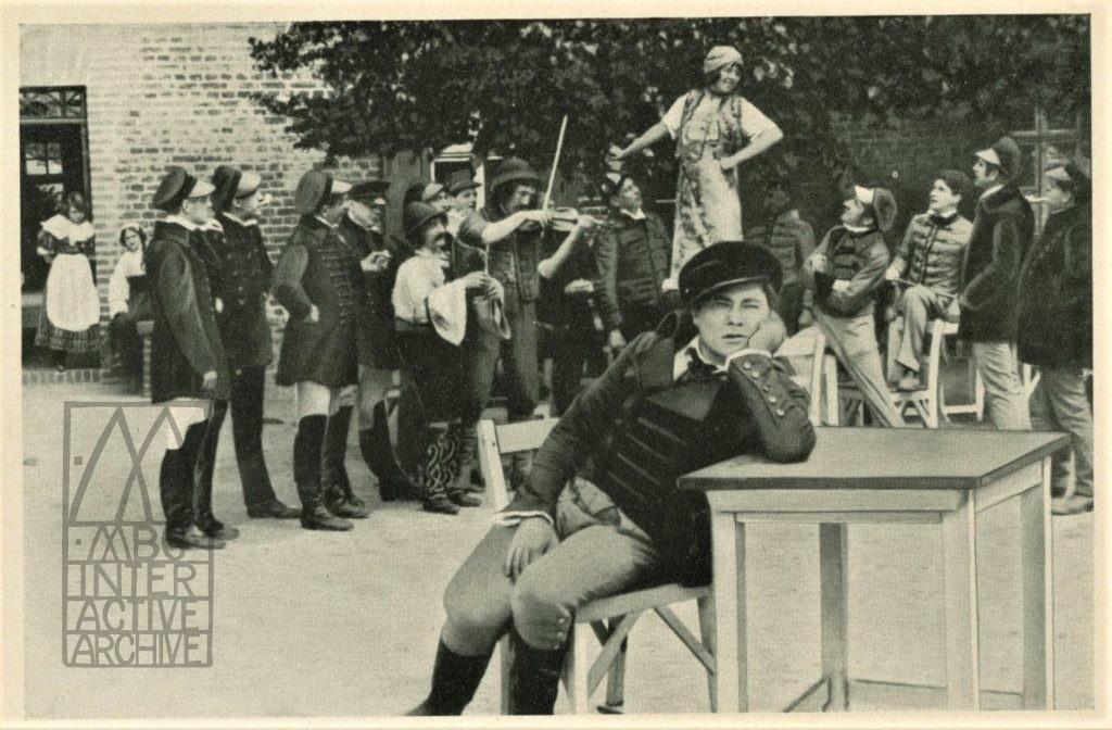 80 Paul Wegener, Der Student von Prague, 1913. gcolcard, Deutscher Filmkunst