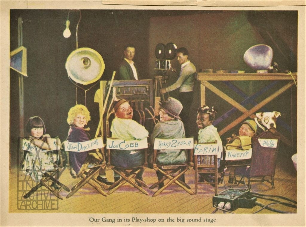 15l Hal Roach, Our Gang, 1929. USbook