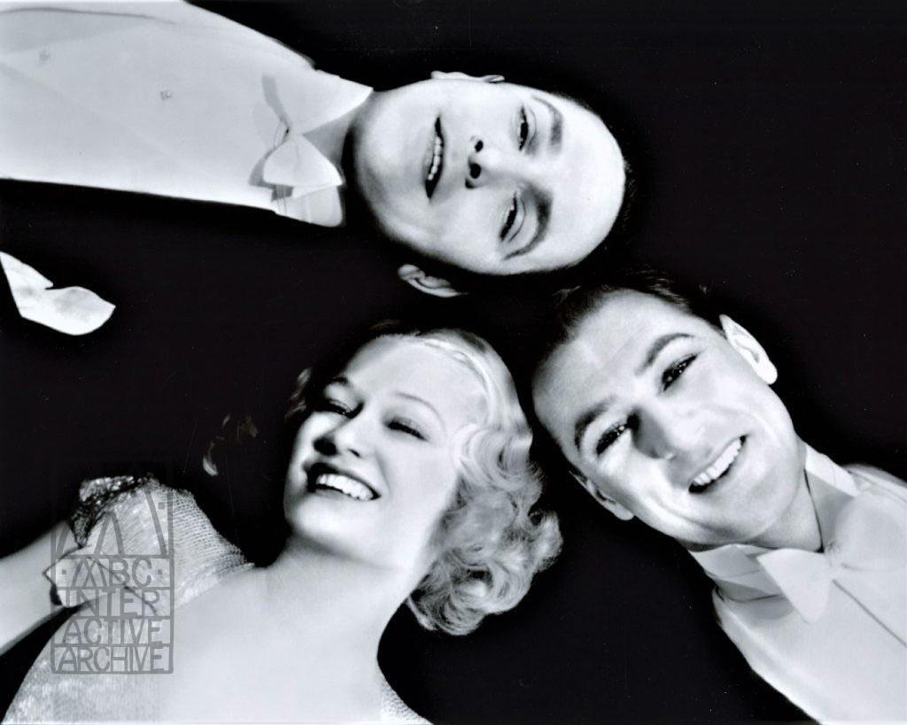 19b Ernst Lubitsch, Frederic March, Mirium Hopkins, Gary Cooper, Design For Living,1932. UKstill