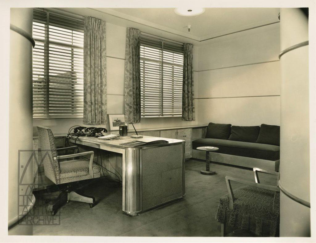 4 Columbia Studios, casting office interior, 1932. USstill