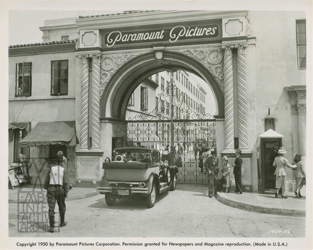 4 Paramount Studios, 1950. Sunset Boulevard. USstill