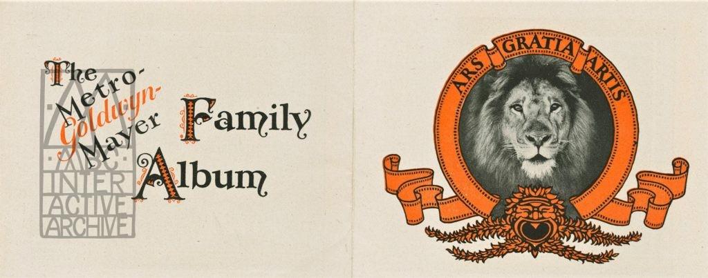 7b MGM Studios Family Album, 1929. USpromo