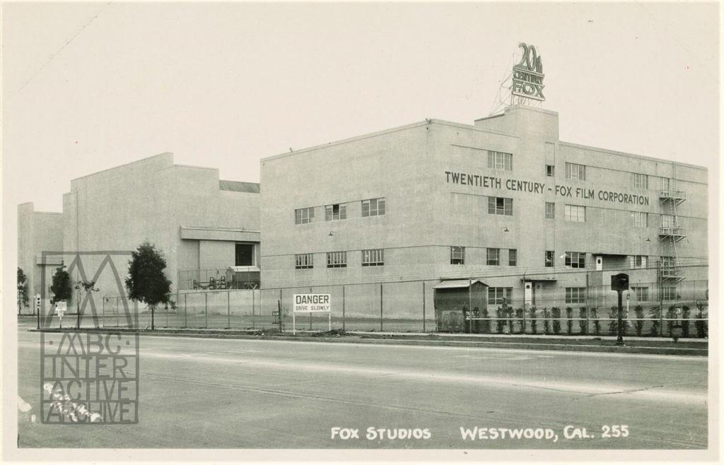 8 Fox Studios, Westwood, CA. 1930s. USpc