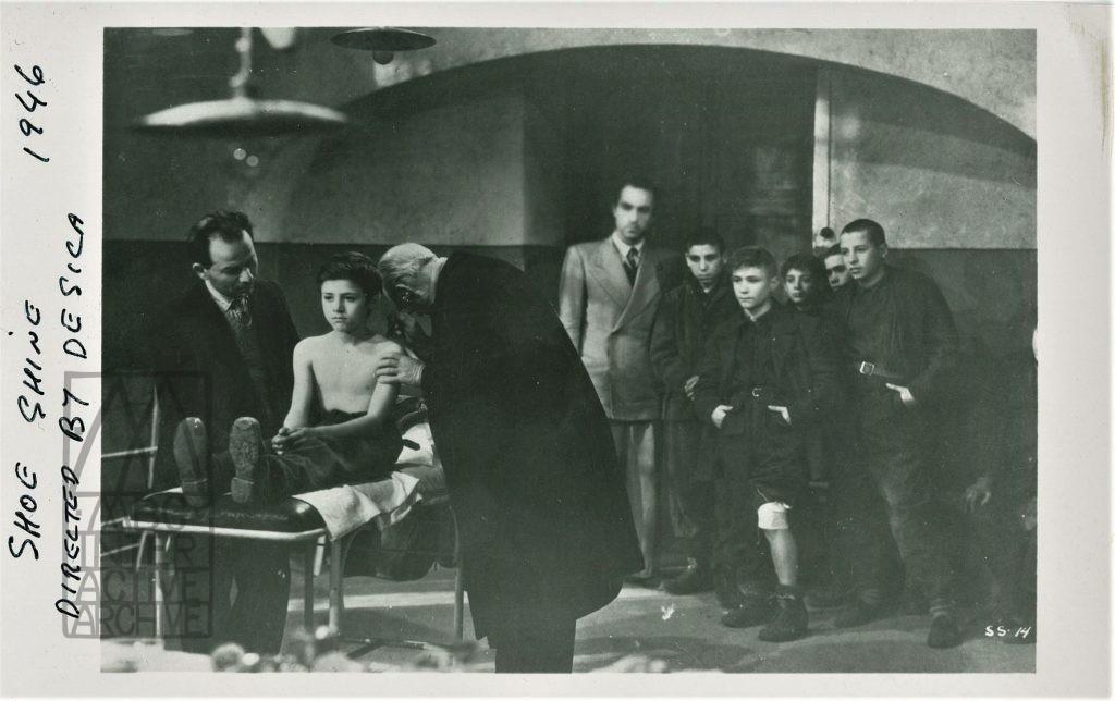 2 Vittorio De Sica, Sciuscià - Shoeshine, 1946. UKstill