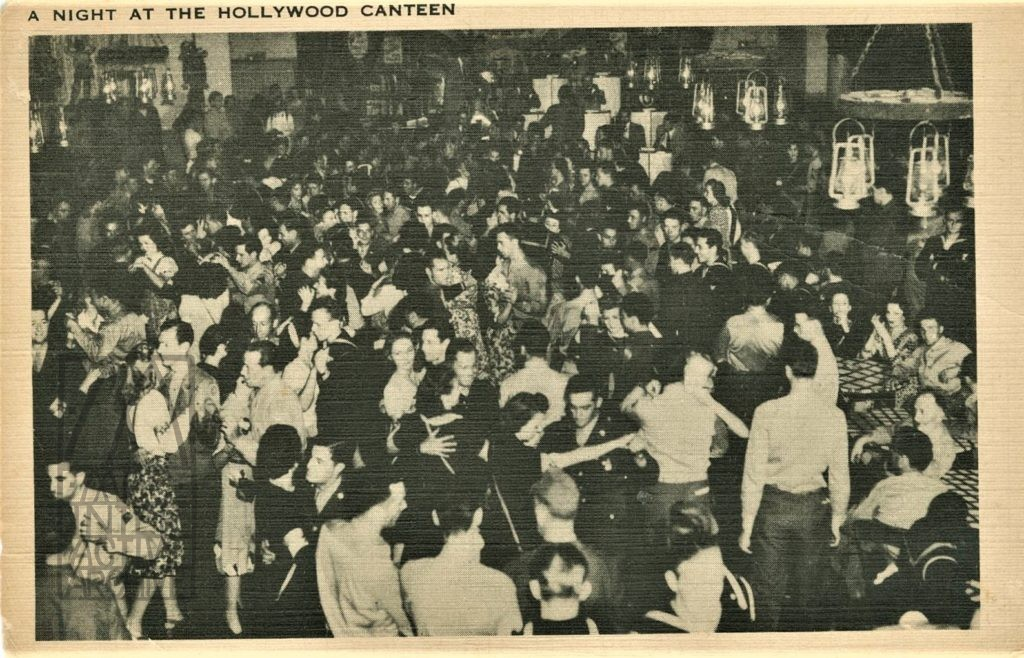 2 A Night at the Hollywood Canteen, 1942. USpc