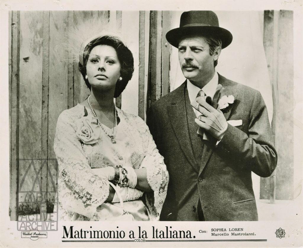 2 Vittorio De Sica, Matrimonio all_italiana - Marriage Italian Style, 1964. USstill