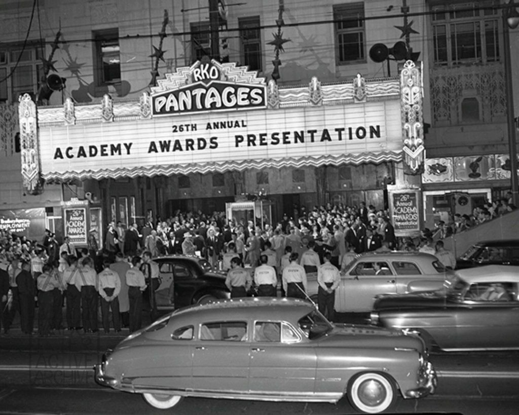2 Pantages Theatre, 26th Annual Academy Awards, 1954. USphoto