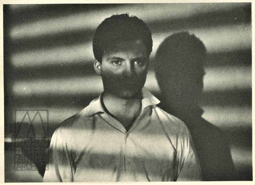 296f Federico Fellini, Moraldo en citta_ 1954. CINEMA magazine 139, August, 1954, cover. Gift of Morando Morandini, Morandini Biblioteca, Cineteca Italiana, Mialano. imag