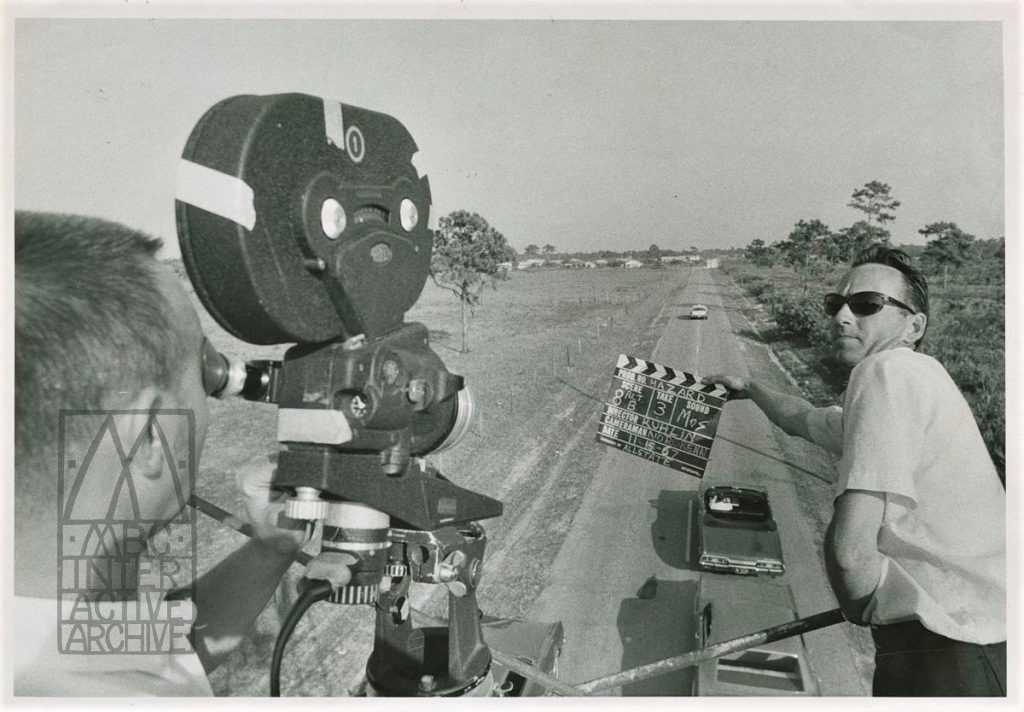1 Roger Ruhlin, Filmmaking in St. Petersburg, Florida, 1967. USphoto