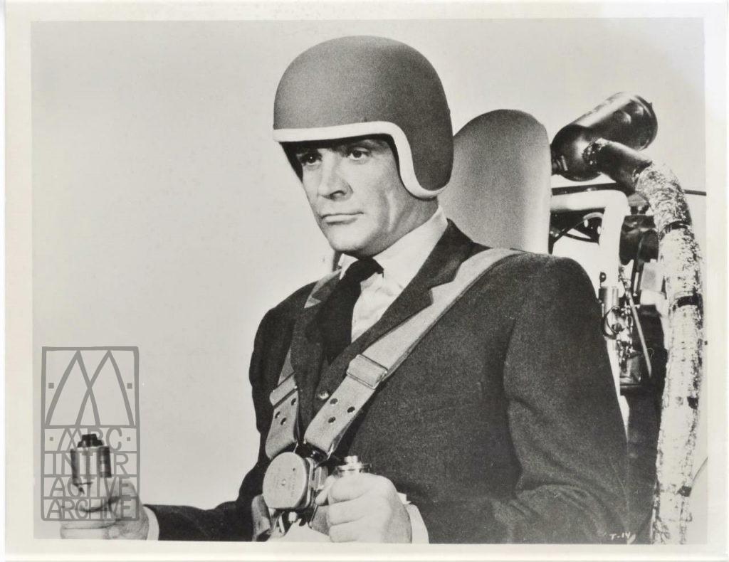 1 Sean Connery, James Bond 007, Thunderball, 1965. USstill