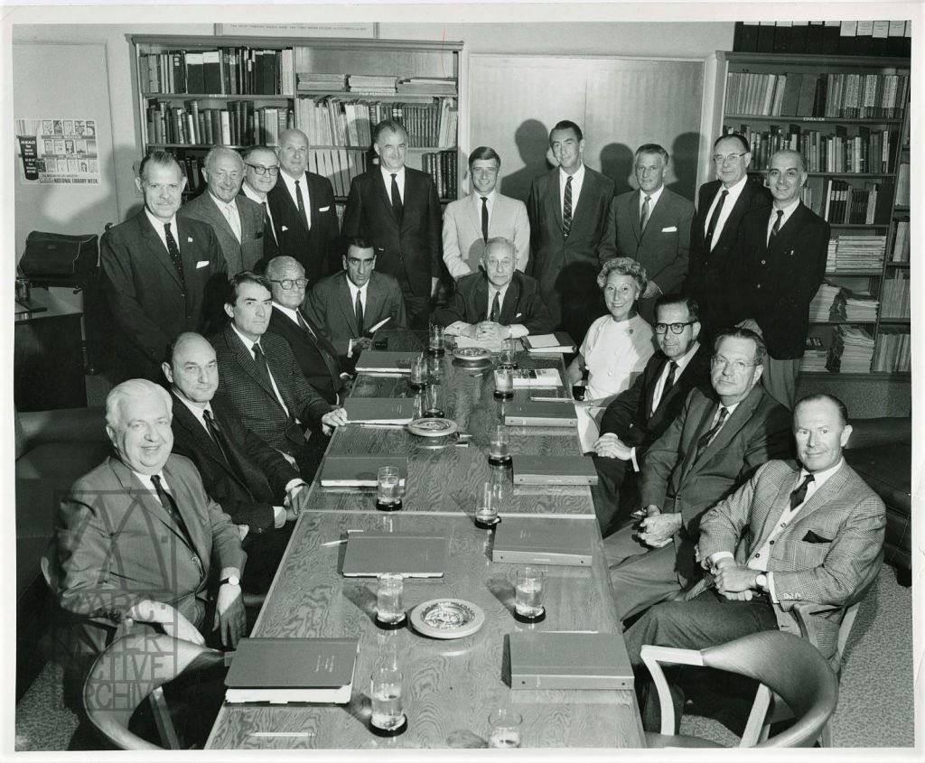 5 Academy Board of Governors, 1964-65. USstill