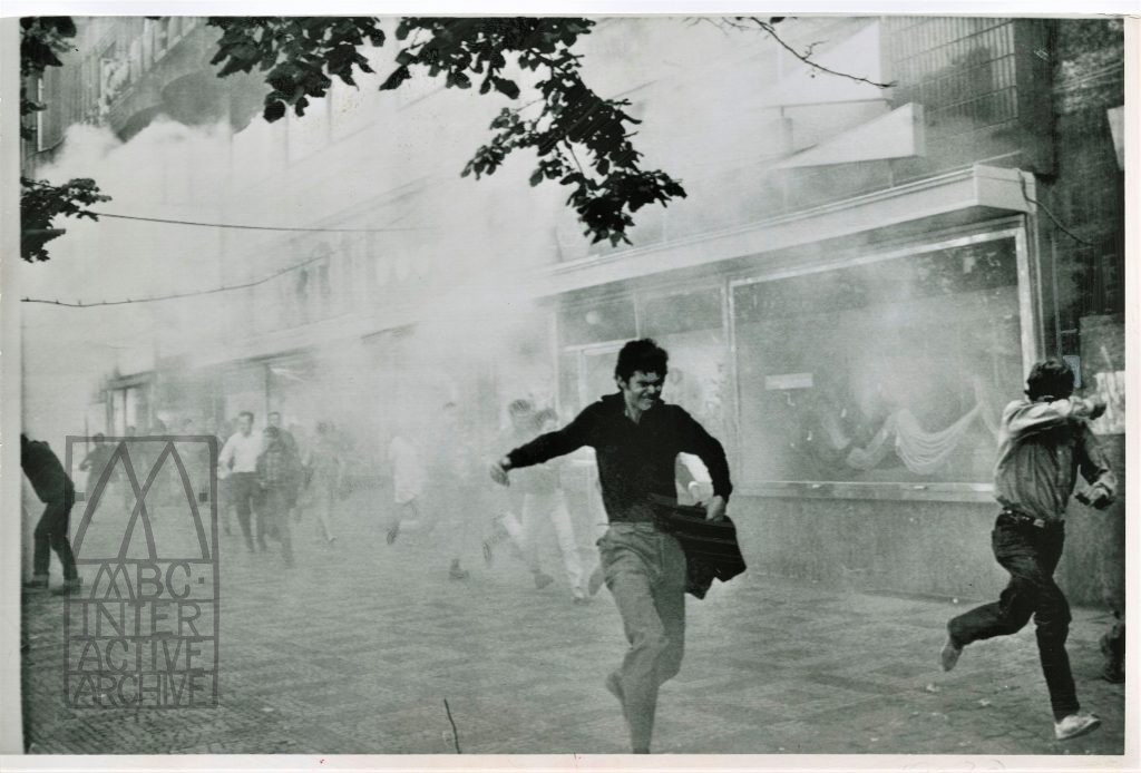 1 Prague Spring first anniversary, Wenceslas Square, August 22, 1969. USphoto