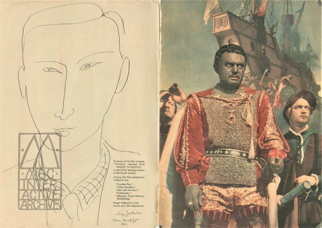 1 Sergei Yutkevich, Otello - Othello, 1956. UKsp