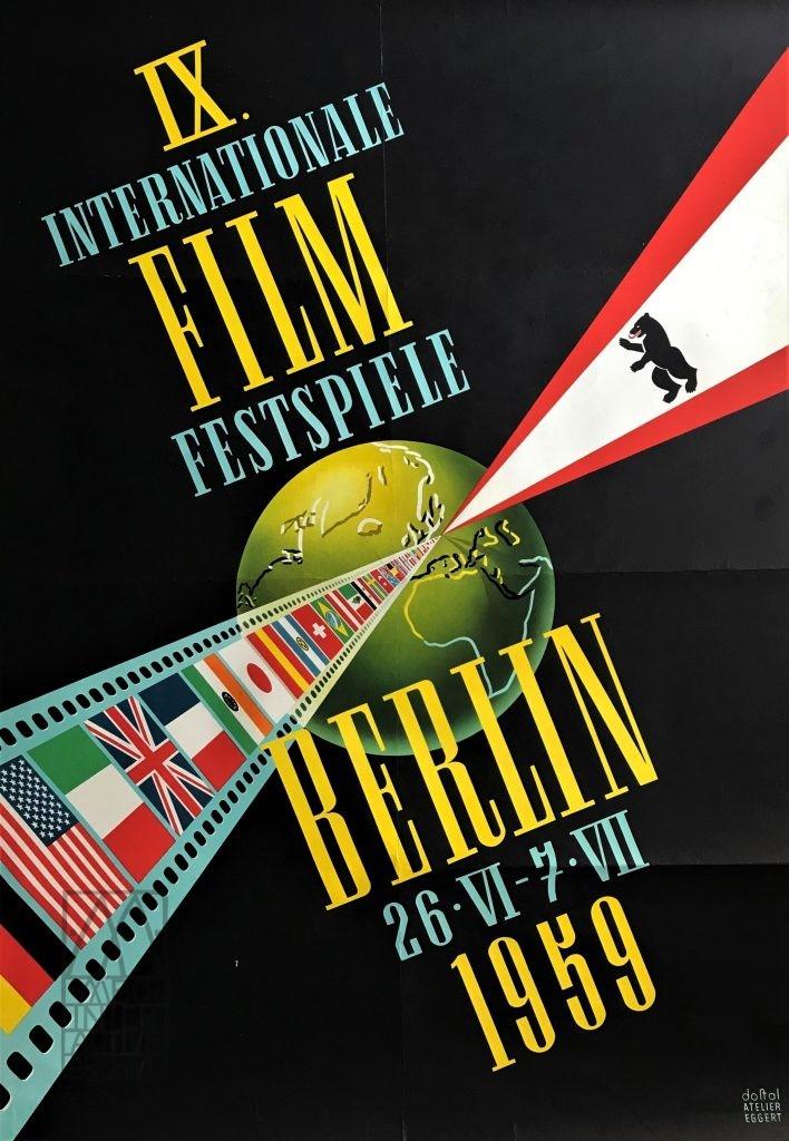 550 Berlin Film Festival, 1959. gposter