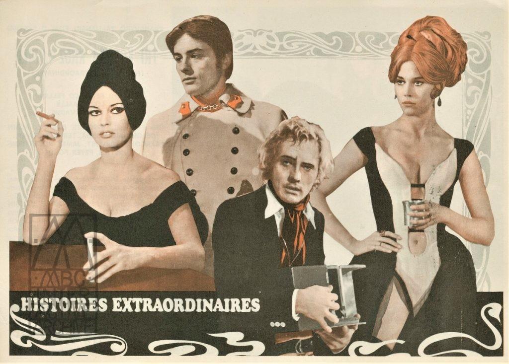 978b Roger Vadim, Louis Malle, Federico Fellini, Histoires Extraordinaire, Toby Dammit, 1968. yp (1)
