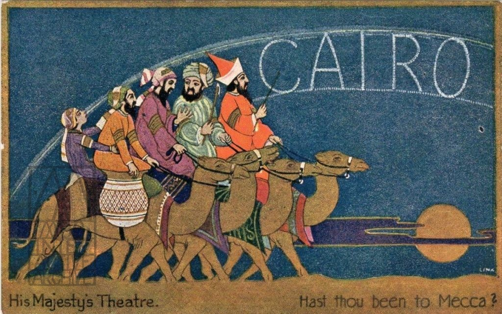 2 Oscar Asche and Lily Brayton, Cairo, His Majesty_s Theatre, 1921. UKpc