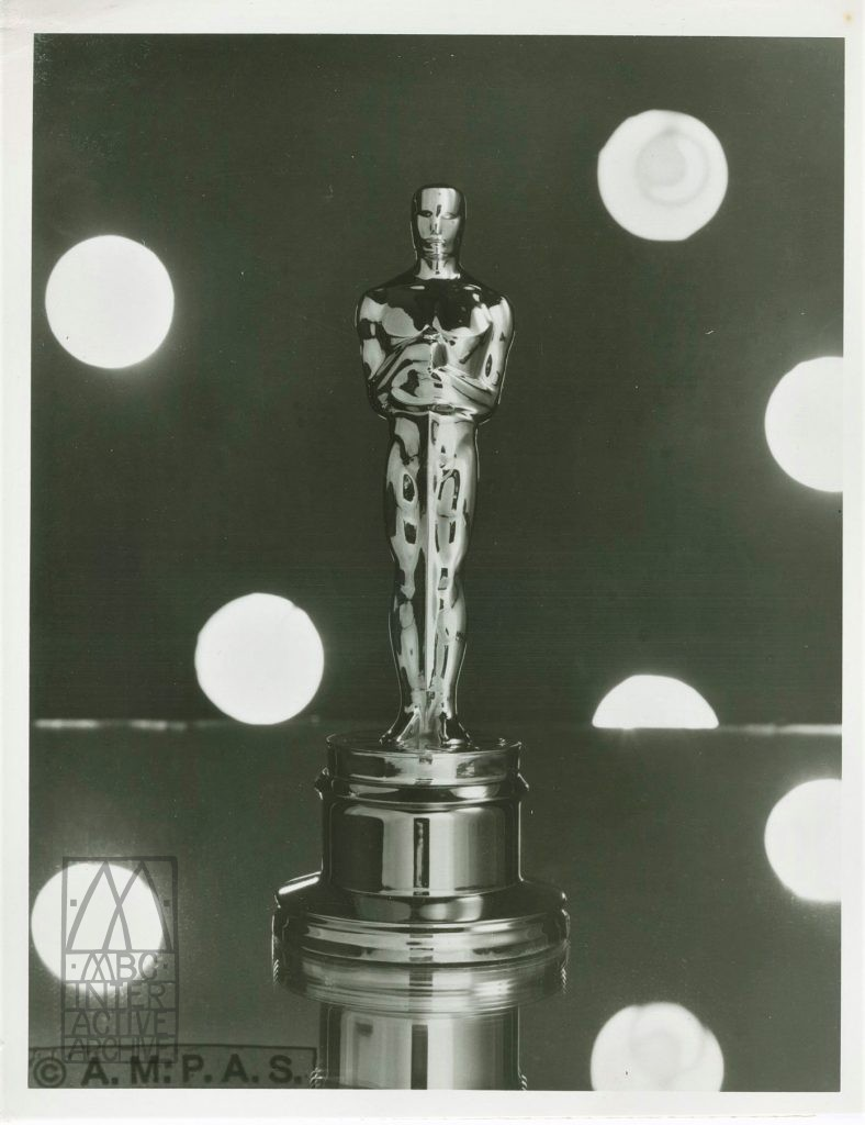 237 43rd Annual Academy Awards statuette, 1970. USstill