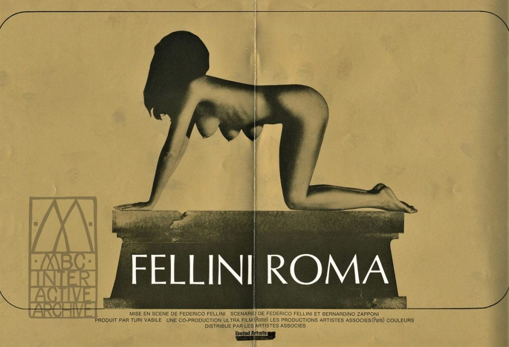 541b Federico Fellini, Fellini_s Roma, 1972. Fpb