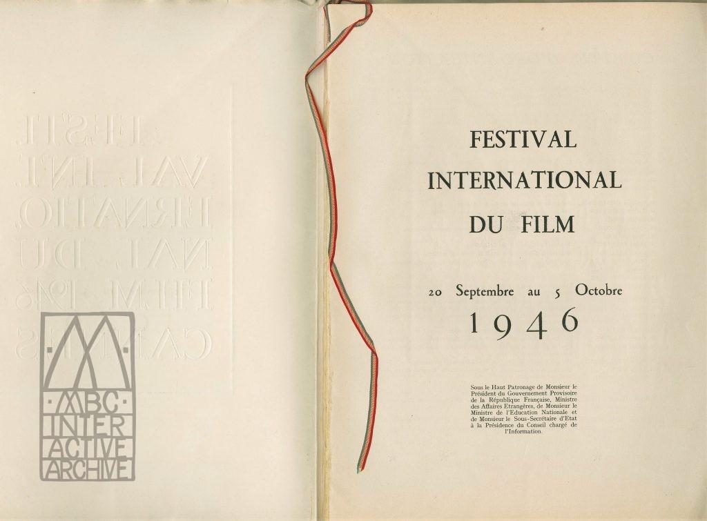 7b 1e Cannes Film Festival, 1946. Fp