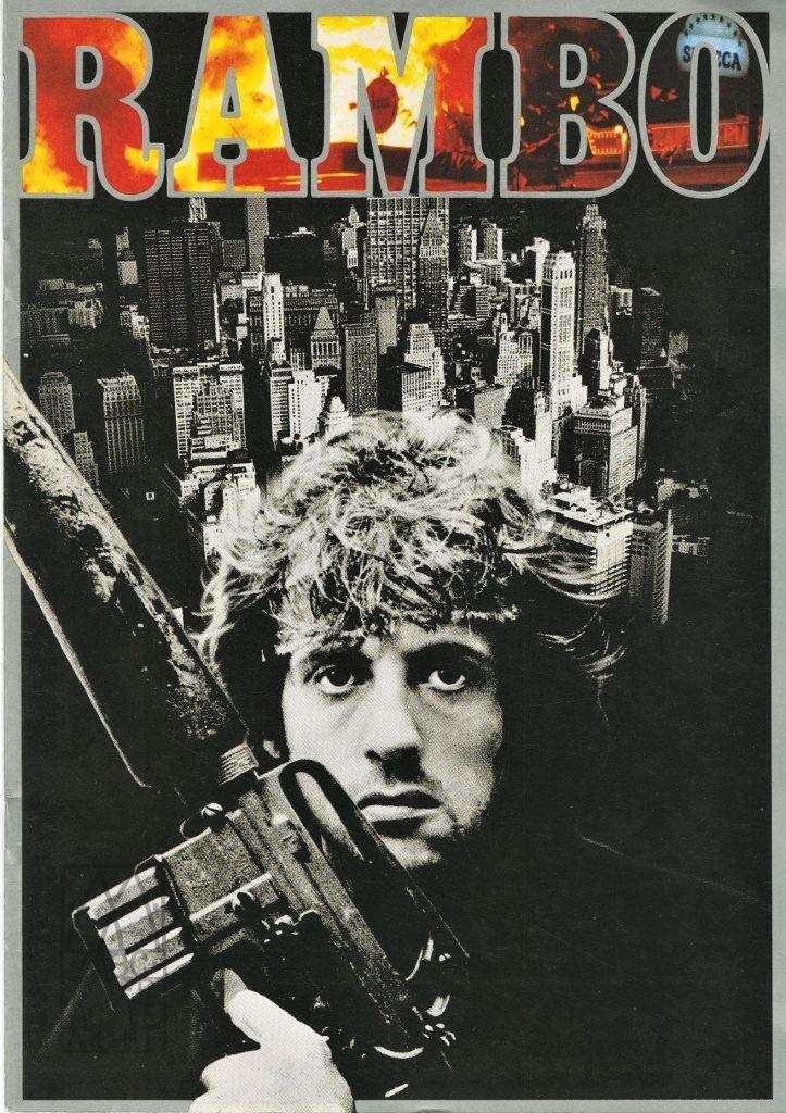 119 Sylvester Stallone, Rambo, 1982. Jp