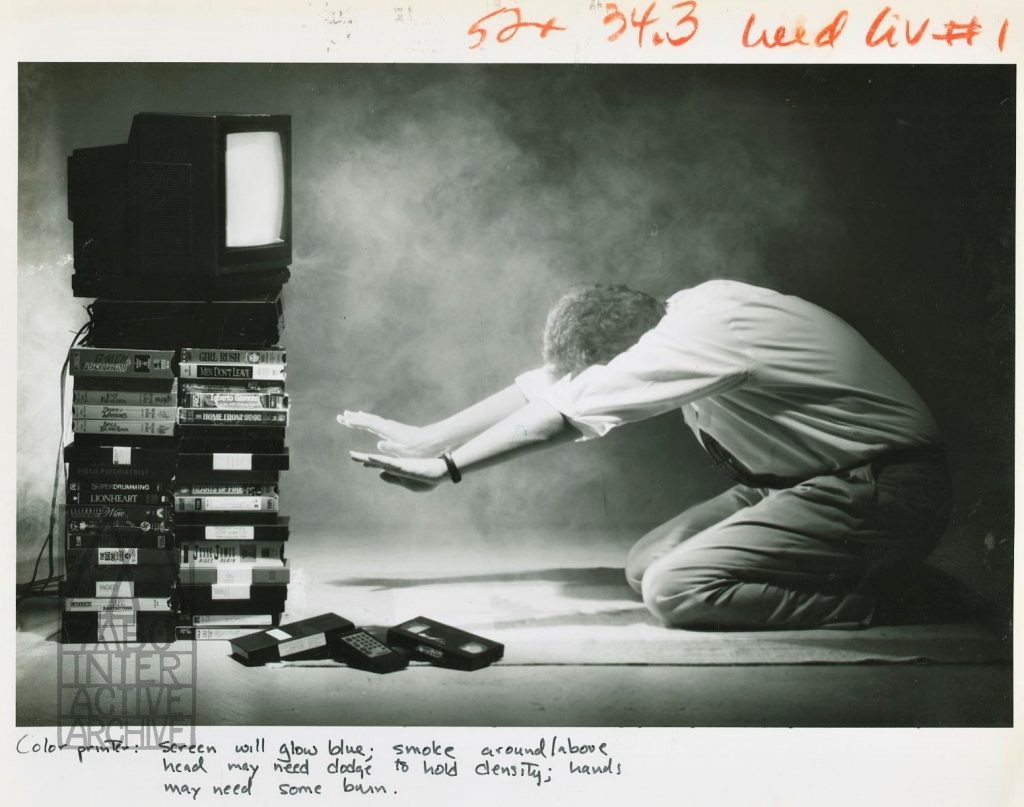 2 Hooked on Video, 1990. USphoto by G. Andrew Boyd