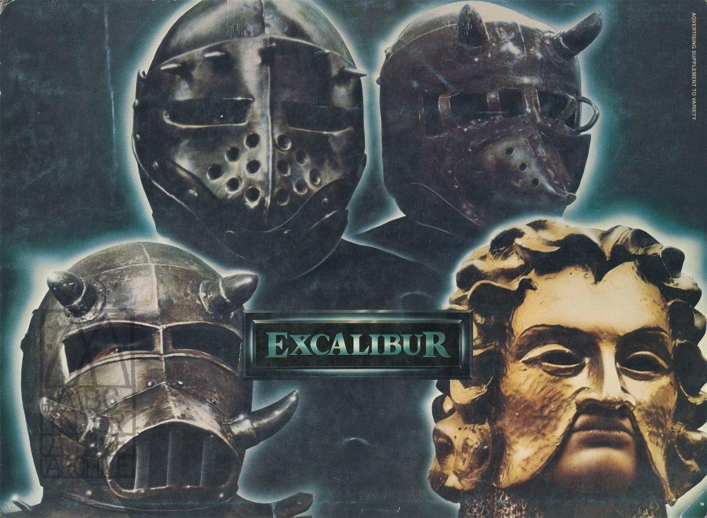 927 John Boorman, Excaliber, 1981. USinsert Variety Magazine