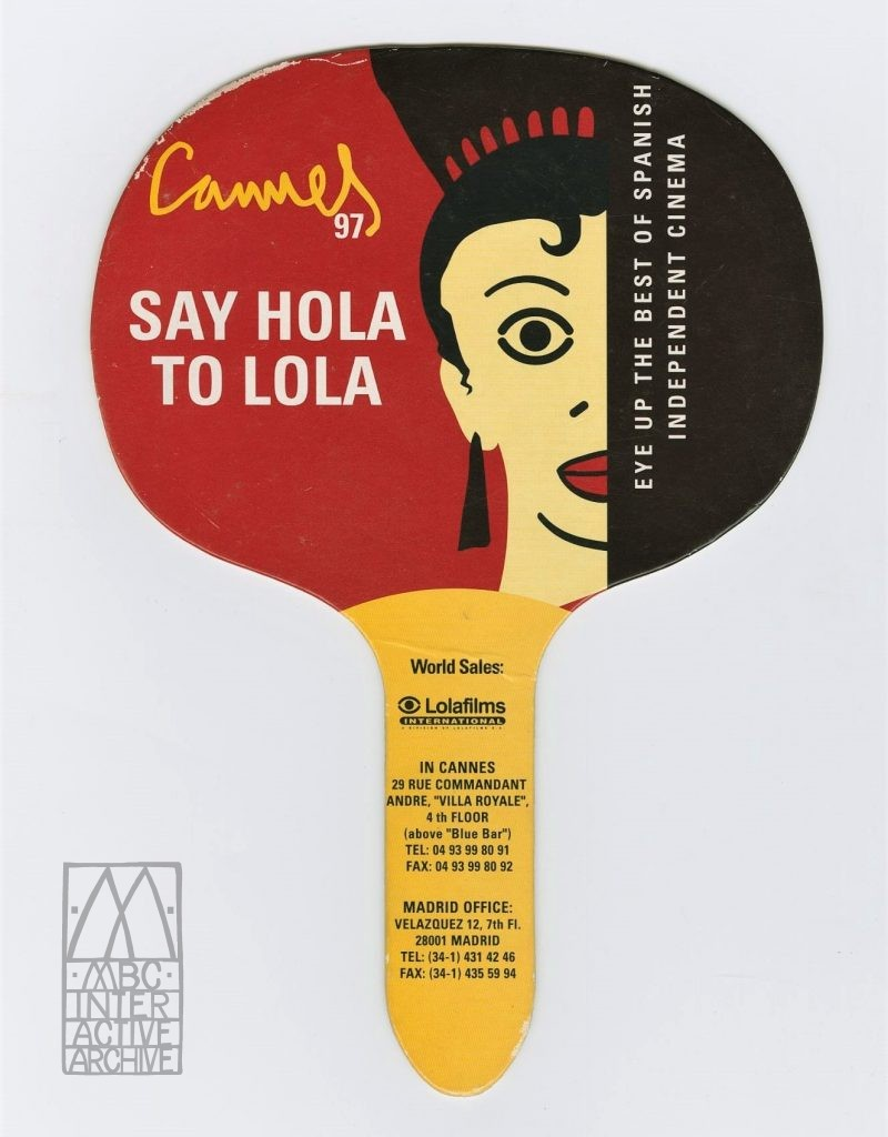 1 Say Hola to Lola, Spanish Film at the Cannes Film Festival, 1997. Fpromo